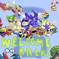 Kirby - Welcome Back, Helpers by Minon