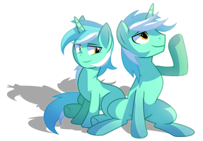 Guyra and Lyra by Wicklesmack