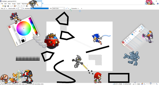 Sprite Brawl: Stage Paint.NET by Toad900
