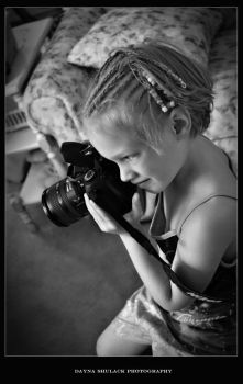 Little Photographer by DShulackPhotography