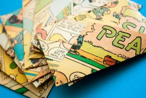 Vintage Peanuts Comic Strips Stationery by TheTruthSeeker