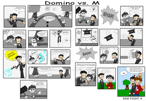 AFL3: Fight 4 - vs. M by Sol-Domino