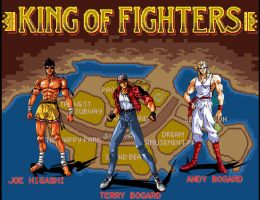 Fatal Fury -Player Select- by Hellstinger64