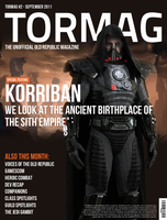 SWTOR Magazine - TORMAG - September Cover by modroid