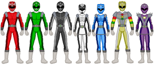 Request-Power Rangers Animal Racers by SpudYeisleyCreations