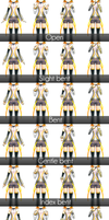 _MMD_ 6 finger poses pack _DL_ by xXHIMRXx
