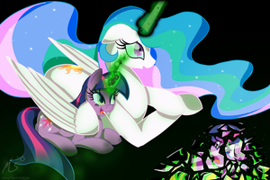 Twilight would never hurt me - Princess Celestia by CiscoQL
