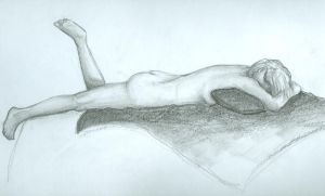 40 minute nude gesture2 by fuzzyhandcuffs