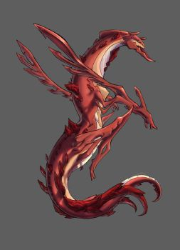 Magma Dragon by CrossScale