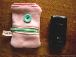 Pink and Mint case by xxelegantbeautyxx