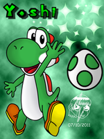 Just Yoshi sayin hello by ZatchHunter