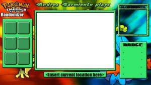 Pokemon Emerald Randomizer Nuzlocke Layout by KojiroBlade