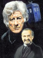 The Third Doctor by solman1