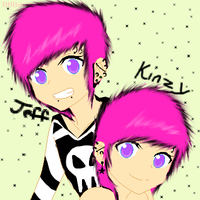 Jeff and Kinzy by SOULxEATERxLOVR