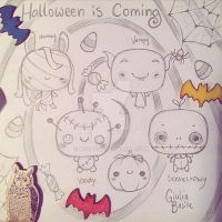 Ideas for halloween charms by ag4pe