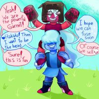 Sapphire and Ruby by ChibiWendy