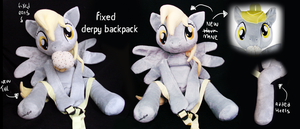 fixed derpy backpack by lemonkylie