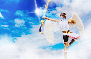 Kid Icarus Cosplay by Aquamarin by KawaiiHD