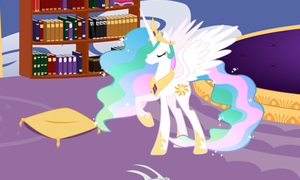 Princess Celestia 3d picture for 3DS by cesargo