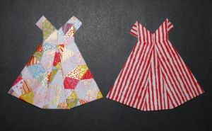 Cute Origami Party Dresses by pprcrft5