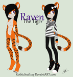 ~Raven_The_Tiger~ by GothicSoulIzzy