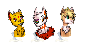 :2nd CP: Busts by GlassFeline