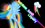 Rainbow Dash Wallpaper (done the right way) by TagTeamCast