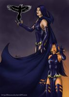 Two sides of Raven by Alassa