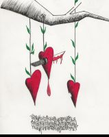 Mangled Heart by Running4theSHADOWS