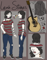 Leah Stones Character Reference by Bashfulfruit