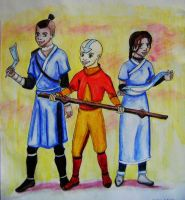 Avatar the last air bender by Thirrinaki