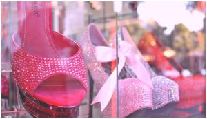 Pink SHOES by Juliabohemian