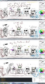 Drawpile roleplay screens by Jeyawue