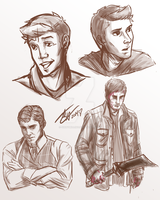 Dean sketches. by GinnyMilling