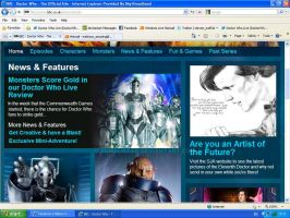My work on the Doctor Who site by xDMelissar