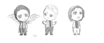 Chibi team free will by chaulenba