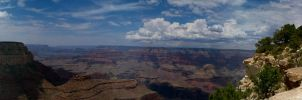 Panorama Grand Canyon by R34LT1M3