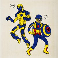 Iron Man and Captain America goes to X-School by paldipaldi