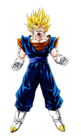 Colored 063 - Vegetto 002 by VICDBZ