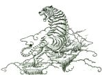 Tiger Tattoo Revised by jdstone