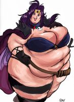 Naga the Fat Serpent by TheAmericanDream