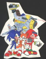 sonic adventure 2 battle by Trakker
