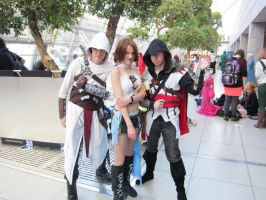 LBM 2013 #7 Assassins Final Fantasy Crossover by Drawer88