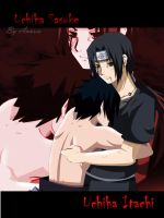 sasuke and itachi : Brothers by annria2002