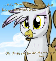 Ask Cute GildaShy: Close up of Gilda by JustAGirlOnline