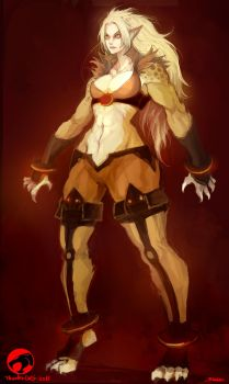 ThunderCats 2011-cheetara by KAZECO
