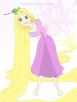 The beautiful Rapunzel by rebenke