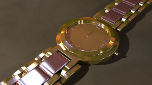 Gold Watch by Blanco111