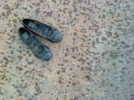 raining shoes by wispered