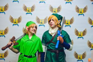 Past and future Link's by ShizaLuckyDevil
